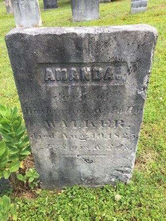 WALKER, AMANDA - Windham County, Vermont | AMANDA WALKER - Vermont Gravestone Photos