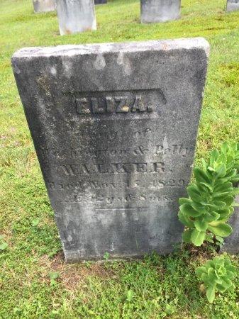 WALKER, ELIZA - Windham County, Vermont | ELIZA WALKER - Vermont Gravestone Photos