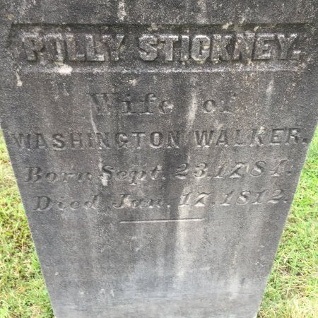 WALKER, POLLY - Windham County, Vermont | POLLY WALKER - Vermont Gravestone Photos