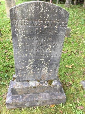 WASHBURN M. D., CYRUS - Windham County, Vermont | CYRUS WASHBURN M. D. - Vermont Gravestone Photos