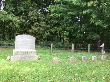 WEATHERHEAD FAMILY STONE, - - Windham County, Vermont | - WEATHERHEAD FAMILY STONE - Vermont Gravestone Photos