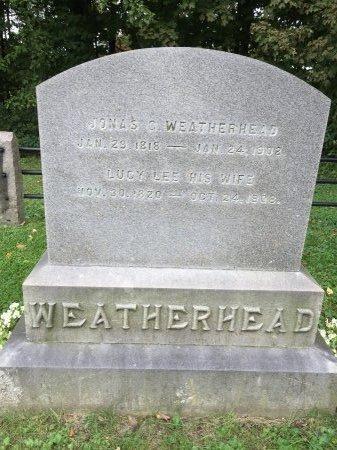 WEATHERHEAD, JONAS C. - Windham County, Vermont | JONAS C. WEATHERHEAD - Vermont Gravestone Photos