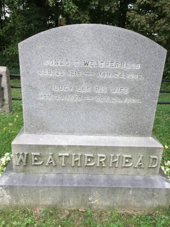 LEE WEATHERHEAD, LUCY - Windham County, Vermont | LUCY LEE WEATHERHEAD - Vermont Gravestone Photos