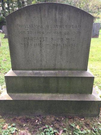WEATHERHEAD, WILLIAM J. - Windham County, Vermont | WILLIAM J. WEATHERHEAD - Vermont Gravestone Photos
