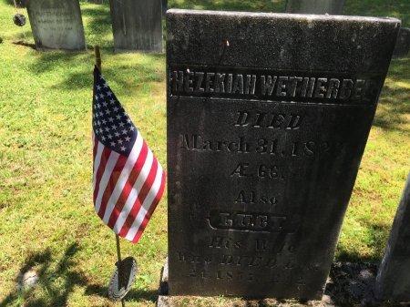 WETHERBEE, PVT. HEZEKIAH - Windham County, Vermont | PVT. HEZEKIAH WETHERBEE - Vermont Gravestone Photos