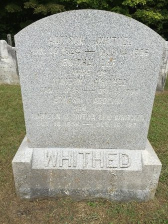 WHITHED, ERNEST ADDISON - Windham County, Vermont | ERNEST ADDISON WHITHED - Vermont Gravestone Photos