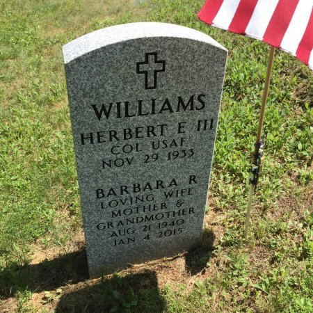 WILLIAMS, BARBARA R. - Windham County, Vermont   BARBARA R. WILLIAMS - Vermont Gravestone Photos