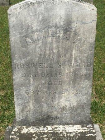 LEE WOOD, AMANDA ARETHUSA - Windham County, Vermont | AMANDA ARETHUSA LEE WOOD - Vermont Gravestone Photos