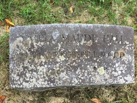 HALL WOOD, LAURA MAUDE - Windham County, Vermont   LAURA MAUDE HALL WOOD - Vermont Gravestone Photos