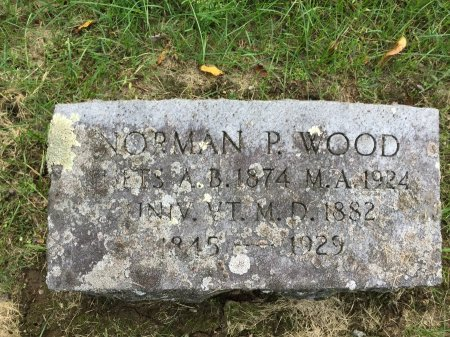 WOOD M. D., NORMAN PERKINS - Windham County, Vermont | NORMAN PERKINS WOOD M. D. - Vermont Gravestone Photos