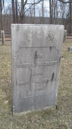 WRIGHT, JOHN STRATTON - Windham County, Vermont | JOHN STRATTON WRIGHT - Vermont Gravestone Photos