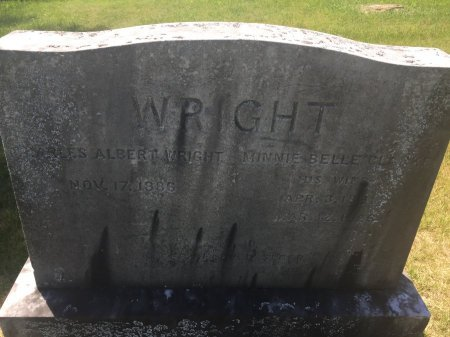 CLARKE WRIGHT, MINNIE BELLE - Windham County, Vermont | MINNIE BELLE CLARKE WRIGHT - Vermont Gravestone Photos