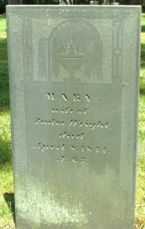 WRIGHT, MARY - Windham County, Vermont | MARY WRIGHT - Vermont Gravestone Photos