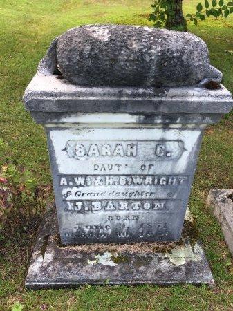 "WRIGHT, SARAH CAROLINE ""CARRIE"" #2 - Windham County, Vermont | SARAH CAROLINE ""CARRIE"" #2 WRIGHT - Vermont Gravestone Photos"