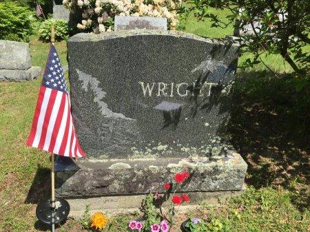 WRIGHT STONE, - - Windham County, Vermont | - WRIGHT STONE - Vermont Gravestone Photos