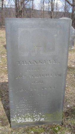 WRIGHT, THANKFUL - Windham County, Vermont | THANKFUL WRIGHT - Vermont Gravestone Photos