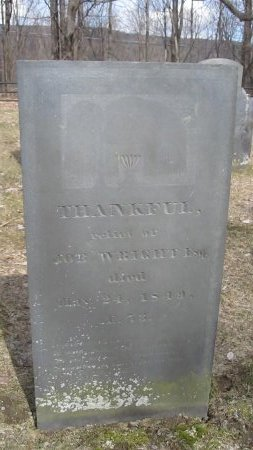 STRATTON WRIGHT, THANKFUL - Windham County, Vermont | THANKFUL STRATTON WRIGHT - Vermont Gravestone Photos