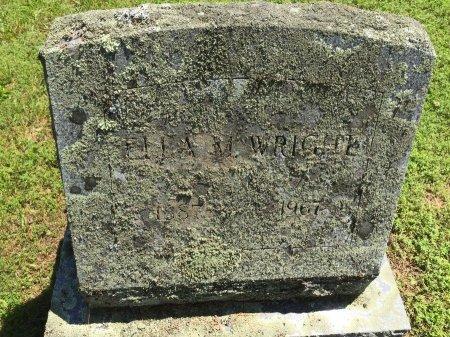 WRIGHT, ELLA M. - Windham County, Vermont | ELLA M. WRIGHT - Vermont Gravestone Photos