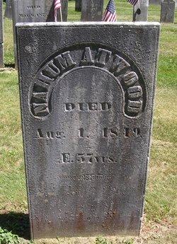 ATWOOD, NAHUM - Windsor County, Vermont | NAHUM ATWOOD - Vermont Gravestone Photos