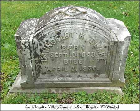 BLAKE (VETERAN UNION), LANCELOT KELLEY - Windsor County, Vermont   LANCELOT KELLEY BLAKE (VETERAN UNION) - Vermont Gravestone Photos