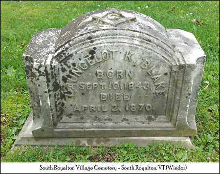 BLAKE (VETERAN UNION), LANCELOT KELLEY - Windsor County, Vermont | LANCELOT KELLEY BLAKE (VETERAN UNION) - Vermont Gravestone Photos