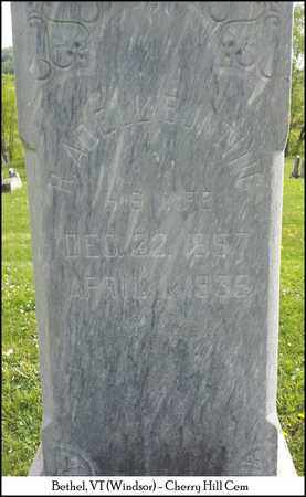 BUNTING CLOUD, ROSE ADELLE - Windsor County, Vermont | ROSE ADELLE BUNTING CLOUD - Vermont Gravestone Photos