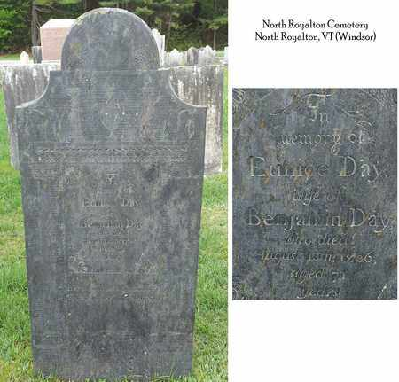 ROOD DAY, EUNICE - Windsor County, Vermont | EUNICE ROOD DAY - Vermont Gravestone Photos