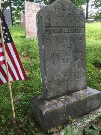 DICKENSON, SHEPHARD ADAMS - Windsor County, Vermont | SHEPHARD ADAMS DICKENSON - Vermont Gravestone Photos