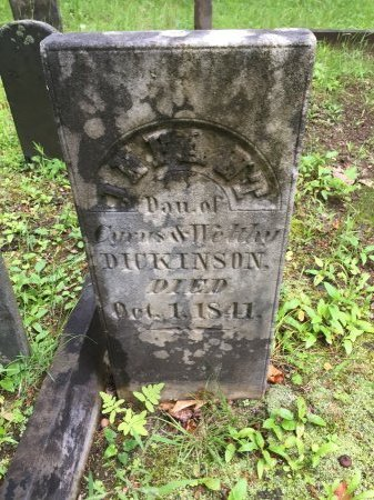 DICKINSON, INFANT DAUGHTER - Windsor County, Vermont | INFANT DAUGHTER DICKINSON - Vermont Gravestone Photos