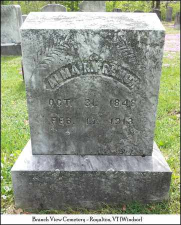 FRENCH, ALMA R. - Windsor County, Vermont | ALMA R. FRENCH - Vermont Gravestone Photos