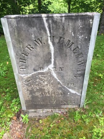 HEMENWAY, LUTHER W. - Windsor County, Vermont | LUTHER W. HEMENWAY - Vermont Gravestone Photos