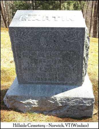 MARTIN, MARY E. - Windsor County, Vermont   MARY E. MARTIN - Vermont Gravestone Photos