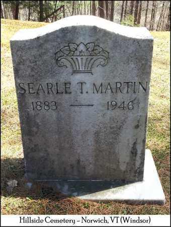 MARTIN, SEARLE TOWN - Windsor County, Vermont | SEARLE TOWN MARTIN - Vermont Gravestone Photos