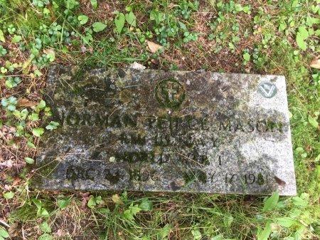 MASON, NORMAN PIERCE - Windsor County, Vermont | NORMAN PIERCE MASON - Vermont Gravestone Photos