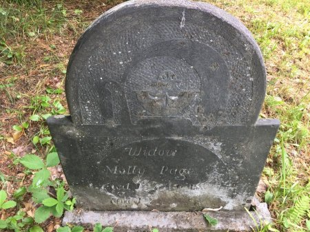 HUTCHINSON PAGE, MOLLY - Windsor County, Vermont | MOLLY HUTCHINSON PAGE - Vermont Gravestone Photos