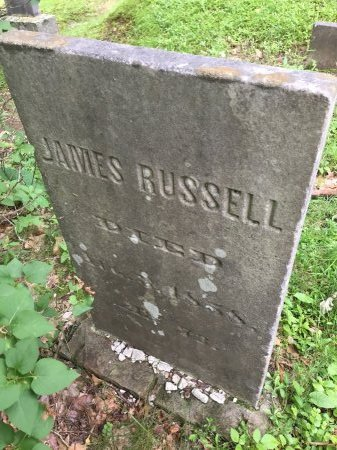 RUSSELL, JAMES - Windsor County, Vermont | JAMES RUSSELL - Vermont Gravestone Photos