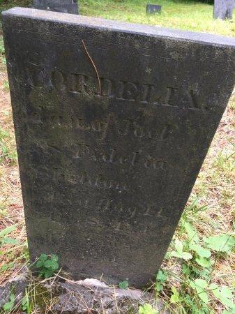 SHELDON, CORDELIA - Windsor County, Vermont | CORDELIA SHELDON - Vermont Gravestone Photos