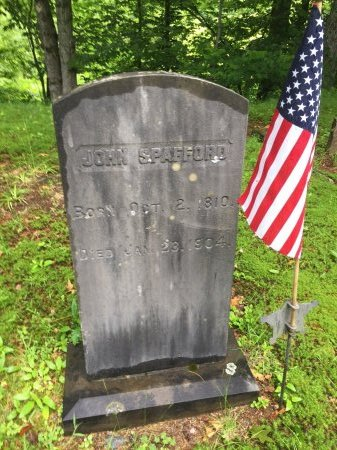 SPAFFORD, JOHN - Windsor County, Vermont | JOHN SPAFFORD - Vermont Gravestone Photos