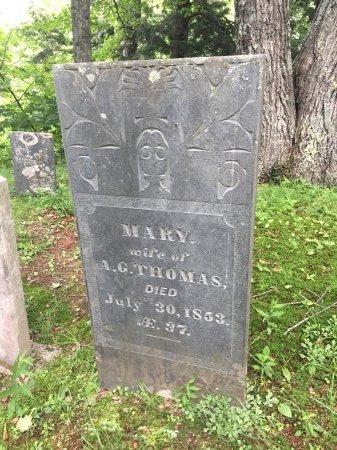 THOMAS, MARY ANN - Windsor County, Vermont | MARY ANN THOMAS - Vermont Gravestone Photos