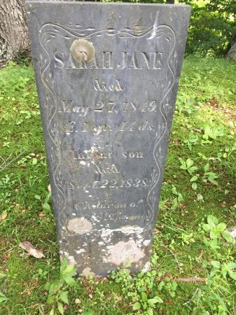 THOMAS, SARAH JANE - Windsor County, Vermont | SARAH JANE THOMAS - Vermont Gravestone Photos