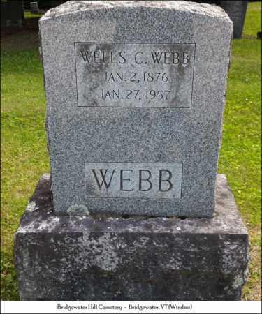 WEBB, WELLS C. - Windsor County, Vermont | WELLS C. WEBB - Vermont Gravestone Photos