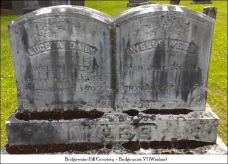 WEBB, LUCE A. - Windsor County, Vermont | LUCE A. WEBB - Vermont Gravestone Photos